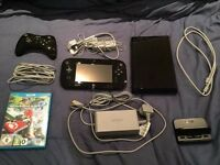 Nintendo Wii U 32GB Premium Console Boxed Bundle With 3 Games & Official Pro Controller