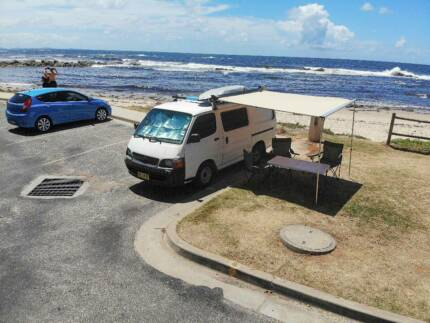 Toyota Hiace Campervan with REGO only 235XXX KM! Sydney City Inner Sydney Preview