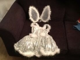 Angel costume with separate wings 9-11 year old