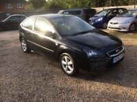 2007 FORD FOCUS 1.6 PETROL MOT JUNE 2018