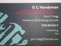 Handyman, Gardening & Joinery Services (Fife & Kinross & surrounding areas)