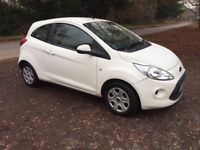 Ford KA MK 2 Drivers door in White 2009+ O/S Ring for more info