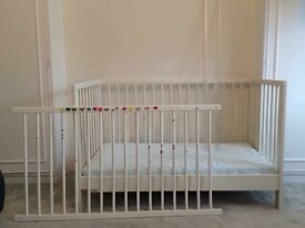Ikea Baby cot + mattress + various