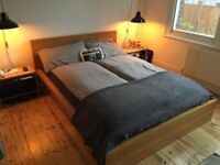 IKEA Malm double bed frame (euro double 140cm)