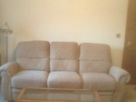 3 and 2 reclining sofas