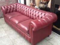 Lovely 3 seater chesterfield sofa.