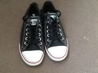 Brand new black converse trainers size uk 4 Euro 37