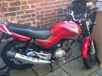 Yamaha ybr 125 2009 fuel injection 6 month mot SWAP FOR ROAD LEGAL 125 WHYG?