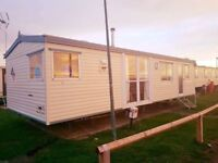 12FT 2 BED STARTER STATIC CARAVAN - FREE 2018 SITE FEES - CENTRE LOUNGE RARE DESIGN - CALL NOW