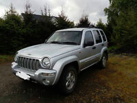 Jeep Cherokee CRD 2.5 Diesel - 2003 (53) Silver