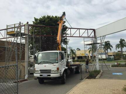 Truck Crane Hiab for hire Perth CBD Perth City Preview