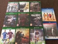 Xbox One games all like new