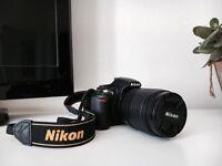 NIKON D3100 (lens 18-105mm f/3.5-5.6G VR) + Digital UV Screw Filter + Equipment Bag
