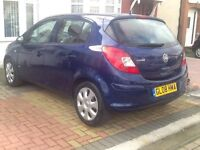 VAUXHALL CORSA AUTOMATIC +5 DOOR+FULLY HPI CLEAR REPORT +FULLY SERVICE HISTORY +LOG MOT