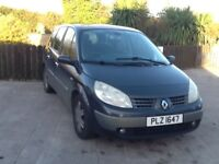 2005 Renault Grand Scenic Dynique 1.6 Petrol, 7 seater