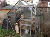 Small greenhouse 6ft X 4ft