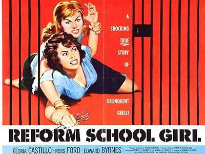 Teen Schoolgirl Movies (Reform School Girl movie film DVD transfer teenage delinquent girls)