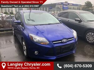 2014 Ford Focus Titanium *LOADED* *LEATHER* *SUNROOF*