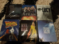 Bluray Steelbooks Rares - All mint in protective sleeves, discs never used.