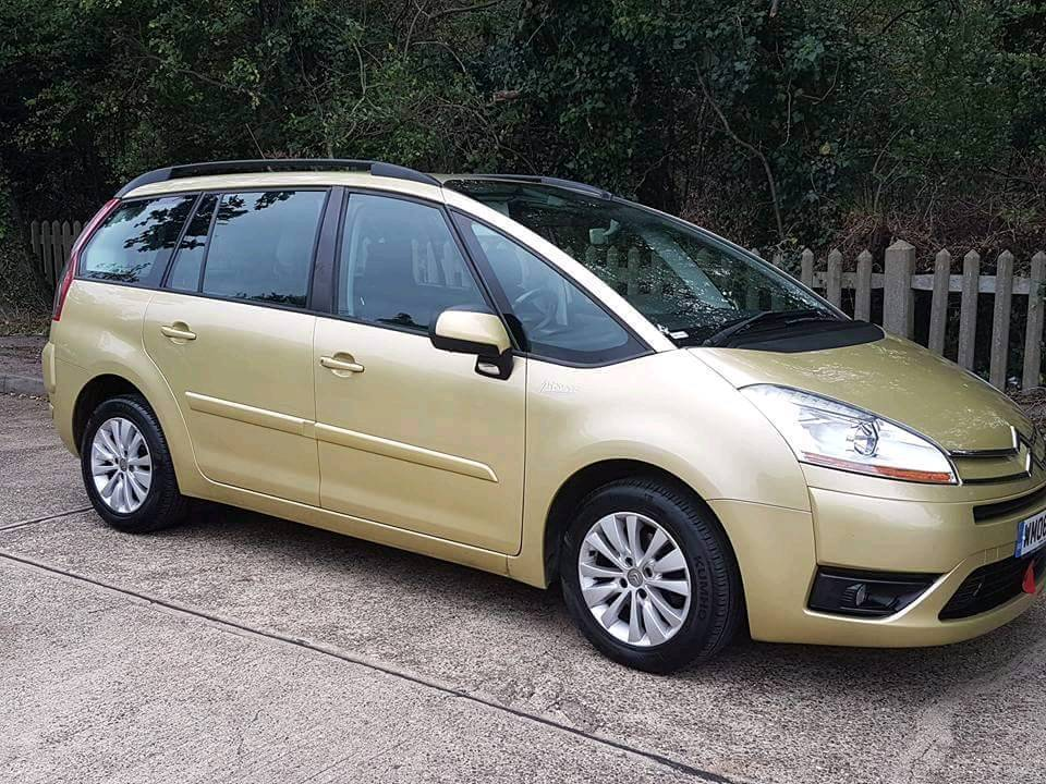 2008 Citroen c4 grand picasso 7 seats - lots spent - lovely car