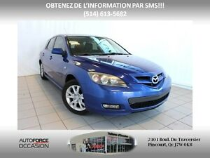 2007 Mazda Mazda3 GS 5 VIT AC MAGS BIEN EQUIPE 5 SPEED AC MAGS W