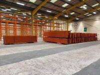 REDIRACK WAREHOUSE PALLET RACKING BUNDLE of 2650mm beams (Chelmsford Branch)