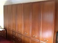 G plan bedroom furniture [ Drawers, wardrobes etc ] for sale...excellent condition throughout
