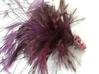 Fascinator , bespoke piece in purple