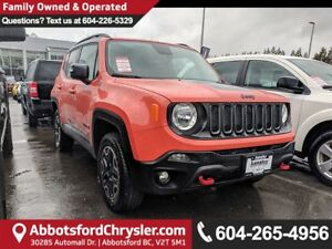 2016 Jeep Renegade Trailhawk *ACCIDENT FREE* *LOCALLY DRIVEN*