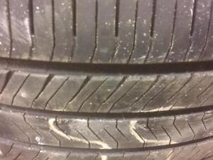 4 pneus d'été 255/55/18 Goodyear Eagle LS2 50% d'usure, mesure 5-6/32.