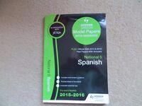 National 5 Spanish model papers with answers and past papers