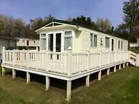 8 berth luxury caravans for hire in haggerston castle