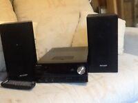 Sharps CD /radio player
