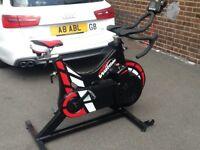 Watt bike pro exercise bike,top of the range bike,