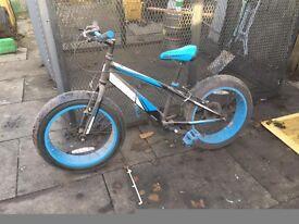 sonic kids wide tyre bike