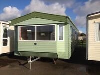 STATIC CARAVAN FOR SALE WITH DOUBLE GLAZING AND CENTRAL HEATING, 16 EXCLUSIVE PARKS TO CHOOSE FROM.