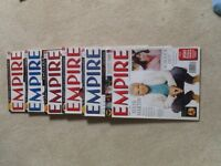 Empire an dTotal Film magazine collection