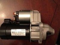Refurbished (unused) starter motor of 03 Vauxhall Astra