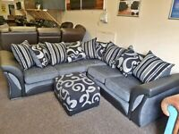 GET 20% OFF ON SHANNON CORNER SOFAS AVAILABLE IN 3+2 SOFA SET