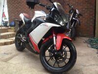Derbi Gpr 125 cc 2009 Sports Bike 4 Stroke Stunning Motorbike Mot January 2019 Very Good Condition