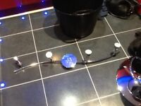 LED 4 spot light fitting,in polished chrome,perfect working order,only £5,possible local delivery
