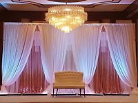 Weddings, Events Decorator, Flower Walls, Centrepieces, Chair Covers, Wedding Stages & Throne Chairs