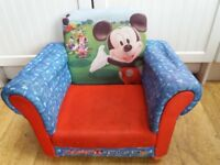 Mickey Mouse Armchair, chair, furniture, children, club house,