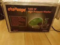 Challenge 1400w jet washer and Rechargeable Air Compressor