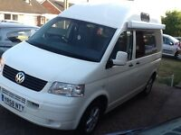 VW transporter T5 diesel, high top, PAS awning, excellent condition