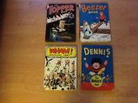 8 vintage books