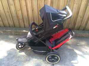 Phil & Teds double stroller Coogee Eastern Suburbs Preview