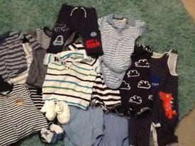 Good condition baby clothes