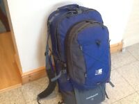 Large camping and travel rucksacks available -lightly used for 1weekend only from £40 upto £55 each