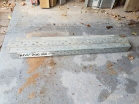 2 x box lintels - label included - good condition (can sell individually)